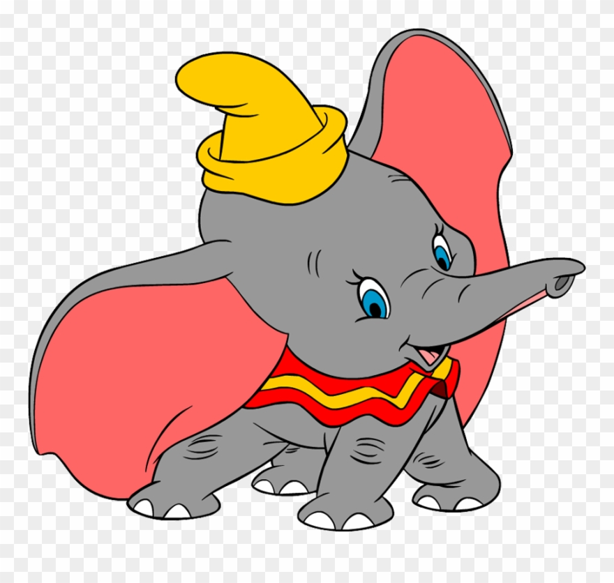 165 Dumbo free clipart.