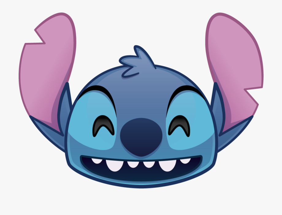 Disney Emoji Blitz Stitch , Transparent Cartoon, Free.
