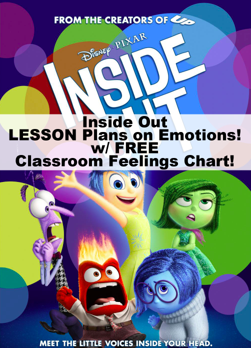 Disney Pixar Inside Out Emotions Chart for Kids. Pinned by @Mary.