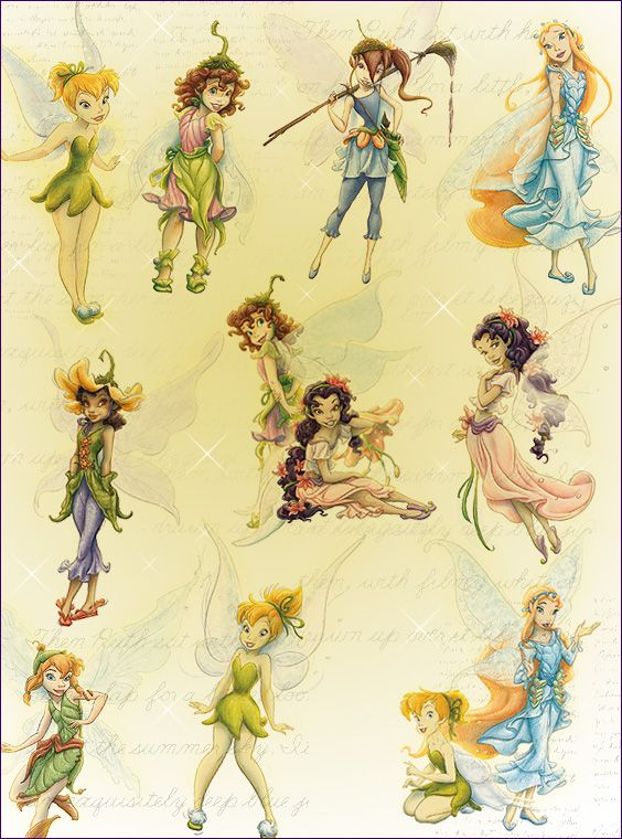17 Best images about Disney Fairies on Pinterest.