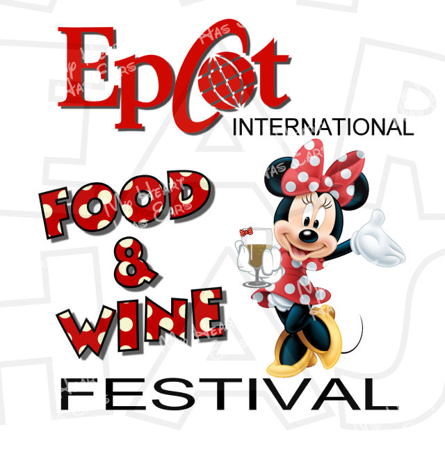 Disney Food And Wine Clipart.
