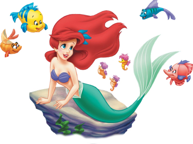 Free Litle Mermaid and Ariel Disney Clipart and Disney Animated.