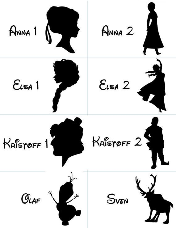 25+ best ideas about Frozen Silhouette on Pinterest.