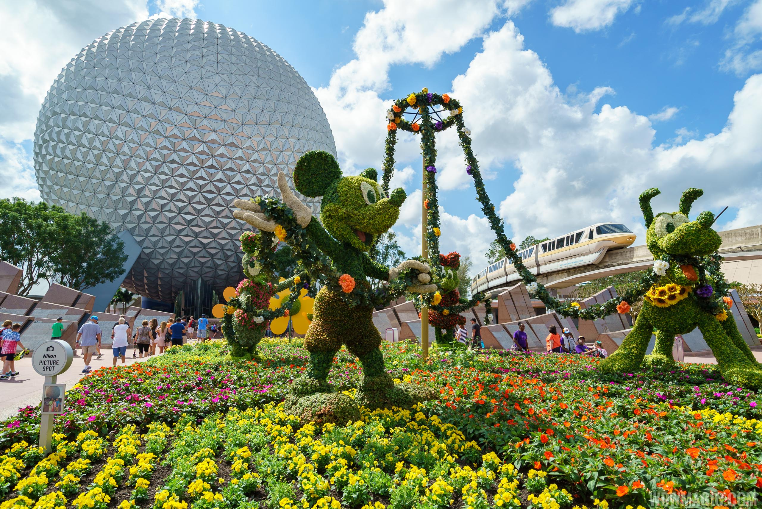 New Outdoor Kitchens and topiaries to join the 2017 Epcot.