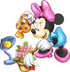 Minnie Mouse Cartoon.