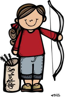 Free YW Girls Camp Clipart.