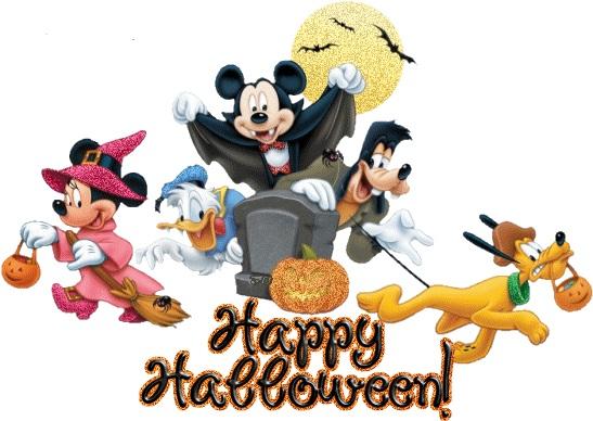 Disney Halloween Clipart.