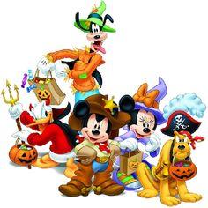 Disney halloween treat clipart.
