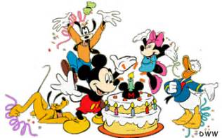 Similiar A Picture Of Wishing Happy Birthday Disney Characters.