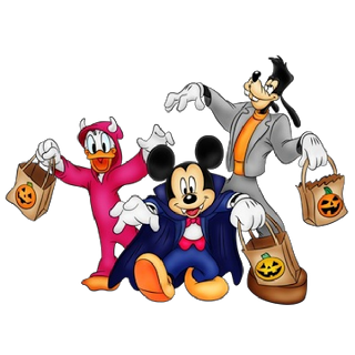 Happy Halloween Disney Clipart.