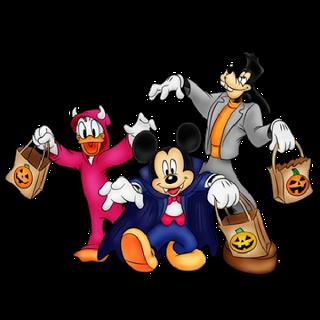 Happy Halloween Disney Clipart.