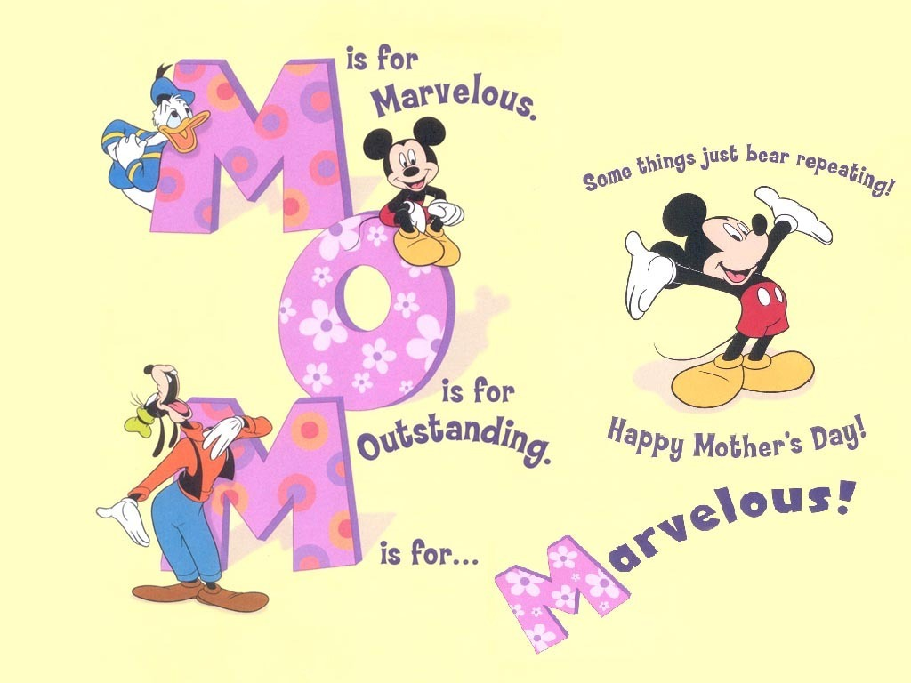 disney happy mothers day clipart #3