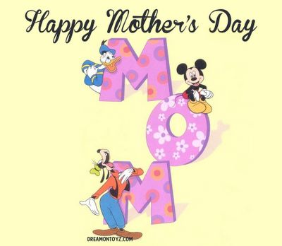 disney happy mothers day clipart #2