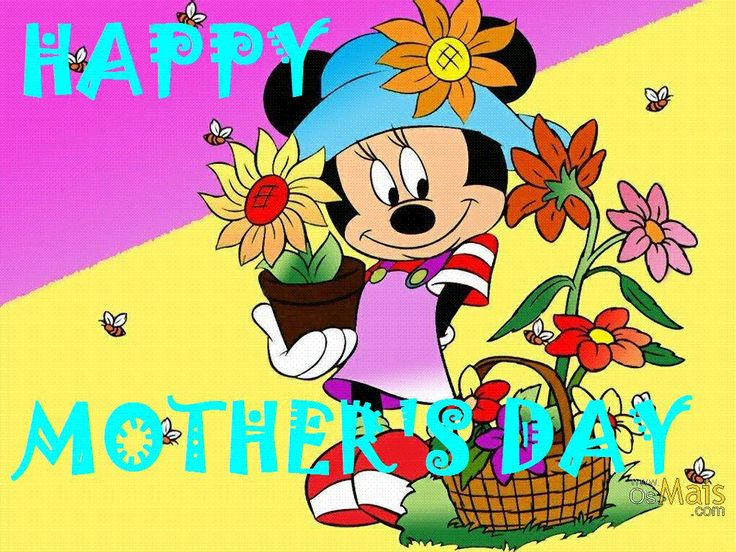 disney happy mothers day clipart #6