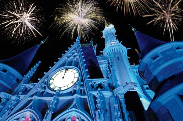 Year's Eve at Disney World.