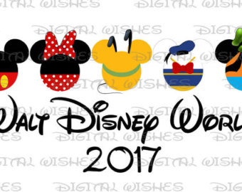 Walt Disney World 2017 Clipart.