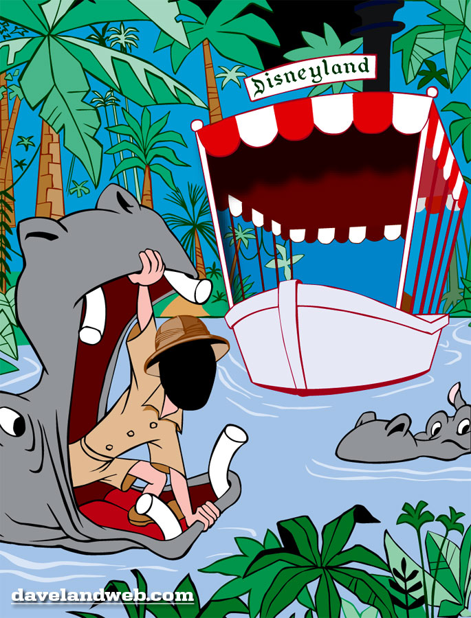 Disney Jungle Cruise Clipart.