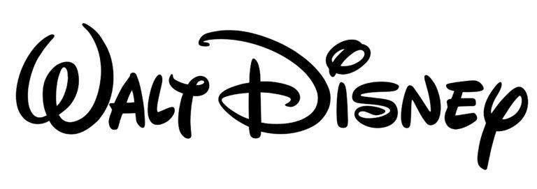 Font Walt Disney logo.