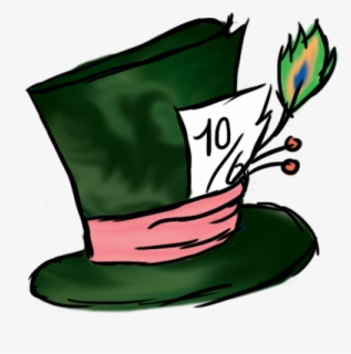 Free Mad Hatter Clip Art with No Background.