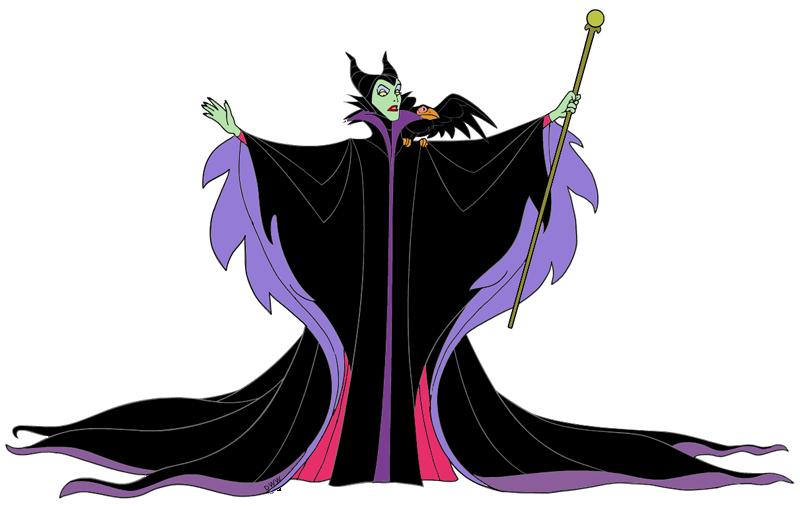 Maleficent Clip Art Images.