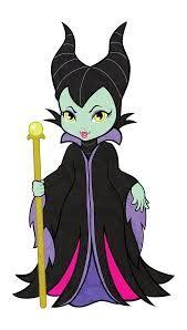Villain Digital Clipart, Maleficent Clipart, Evil queen clipart.