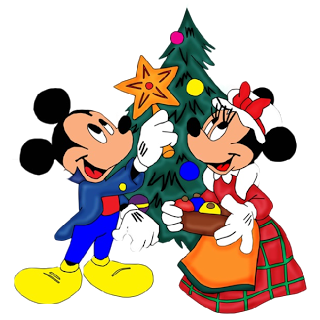 Disney Mickey Christmas Clipart Character.