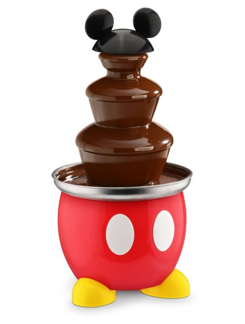 Disney Dcm50 Mickey Mouse Chocolate Fountain Red Ship.