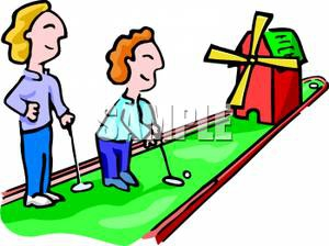 Mini Golf Clipart#1922458.