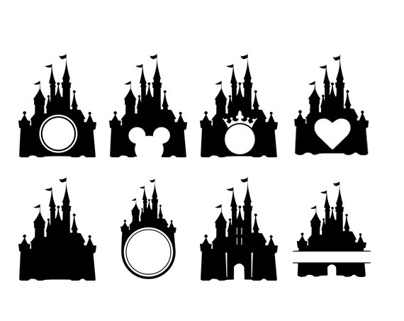 disney monogram clipart