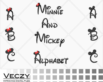 Disney monogram svg.