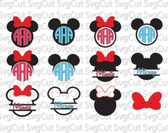 Disney monogram.