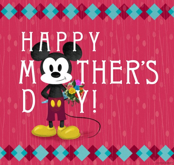 8 Disney Mother's Day Cards to Share With Your Mom.