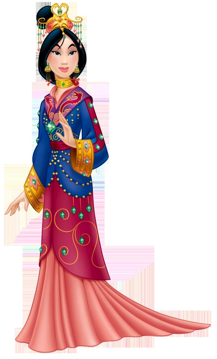 Cartoon Disney Mulan Clipart.