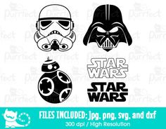 May The Mouse Be With You SVG, Star Wars Storm Troopers SVG.