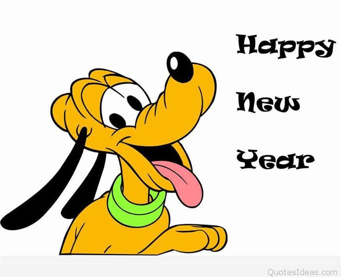 Happy new year disney clipart 4 » Clipart Station.