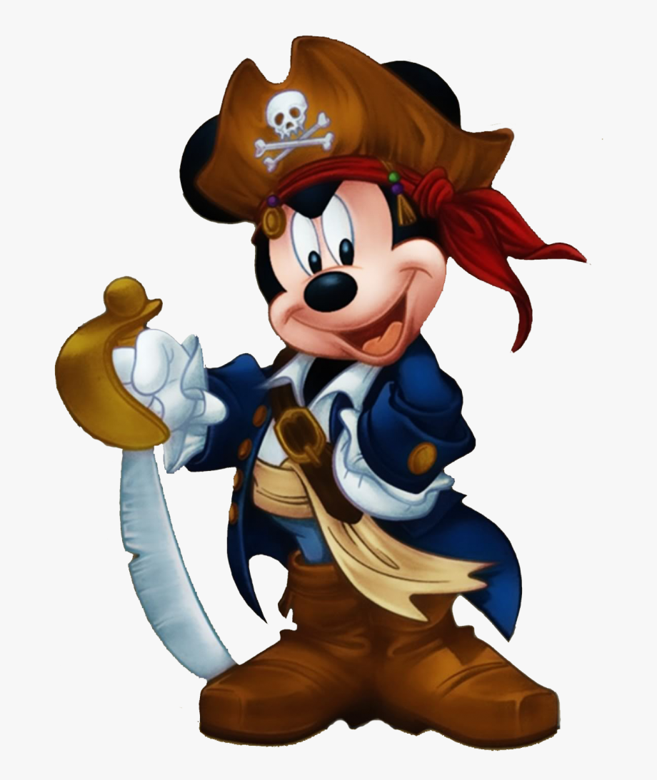 Mickey Pirate Clipart.