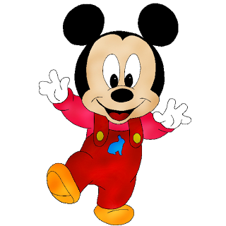 Disney Baby Mickey Clipart.