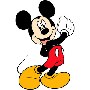 Disney Mickey Flying Clipart.