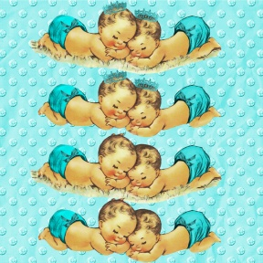 Baby Twin Vintage Boys Prince Clipart Instant Download By ChaQuel.