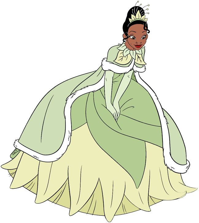 The Princess and the Frog Clip Art.