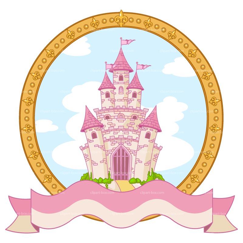 Disney Princess Castle Outline
