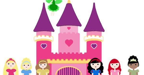 Disney Princess Castle Clip Art Clipart Free Clipart.