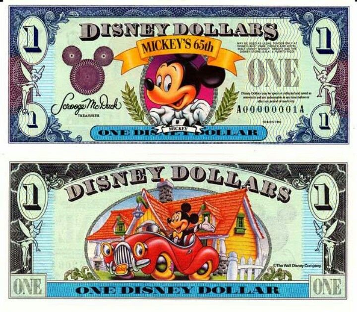 Disney Clipart Dollars.