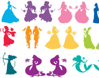 Disney princess svg.