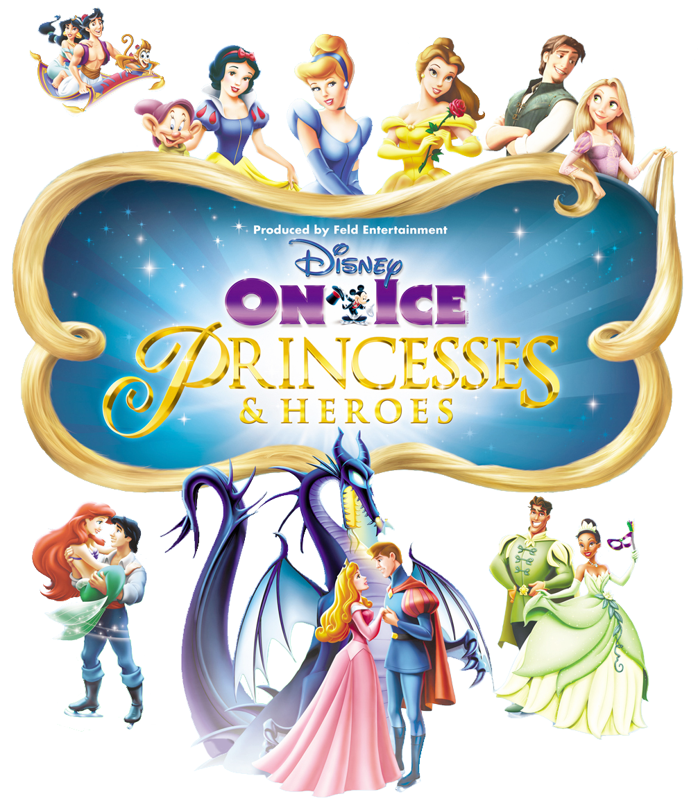 Disney on Ice Logos Clipart.