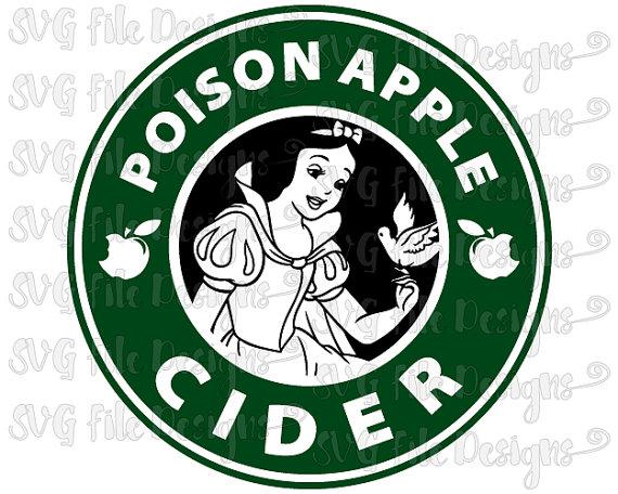 Snow White Poison Apple Cider Disney Princess Starbucks Coffee.