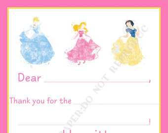 Disney princess thank you.