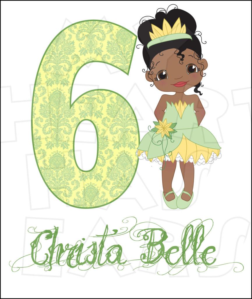 Disney Princess Tiana Birthday Disney Princess Birthday Clip Art.