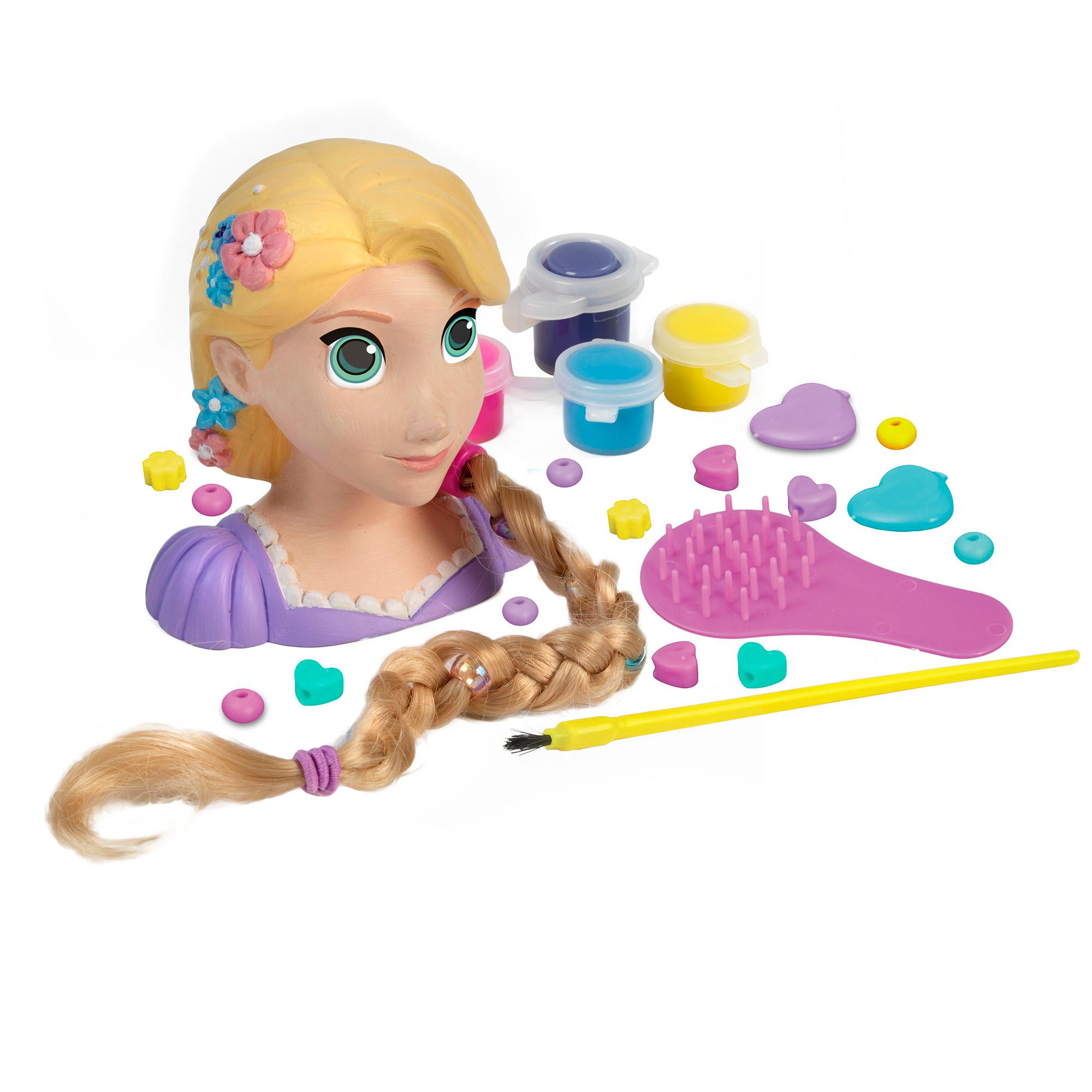 Disney Princess Rapunzel Paint and Style.