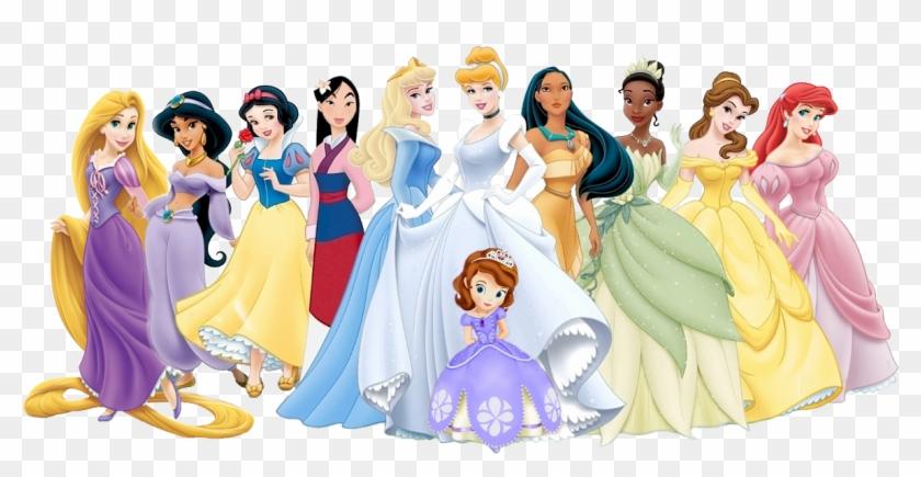 Disney Princesses Clipart Png Disney Princess Sophia.